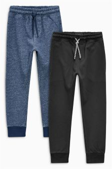 Blue Joggers Two Pack (3-16yrs)