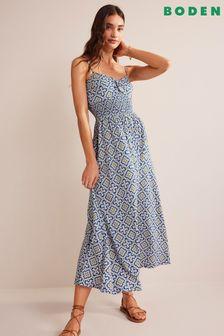 Blue Zip Through Fleece Jacket