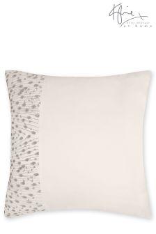 Kylie Eva Oyster Square Pillowcase