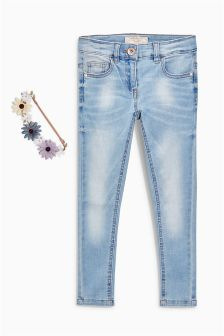 Light Wash Skinny Jeans (3-16yrs)