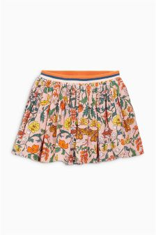 Pink Paisley Printed Skirt (3mths-6yrs)