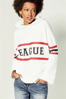 White League Graphic Hoody