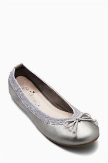 Flexi Bow Ballerinas (Older Girls)