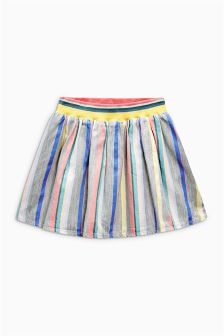 Multi Rainbow Striped Skirt (3mths-6yrs)
