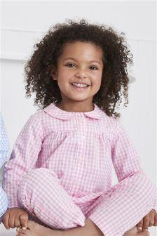 Pink Gingham Pyjamas (9mths-8yrs)