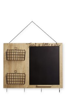 Wood And Wire Memo Board