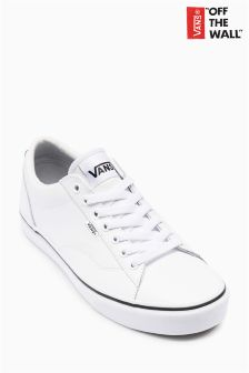 Vans White Leather Dawson