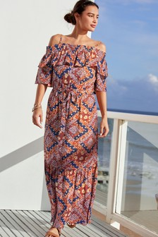 Coast Green Anya Jacquard Dress