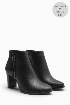 Formal Zip Boots