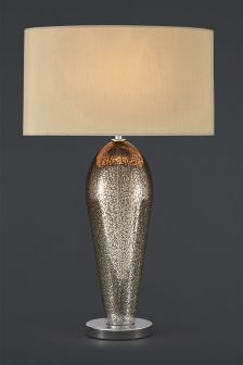 Champagne Ombre Glass Table Lamp