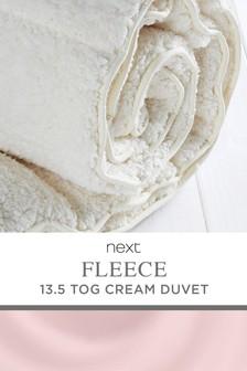 Supersoft Fleece 13.5 Tog Duvet