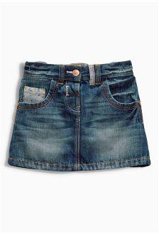 Dark Denim Skirt (3mths-6yrs)