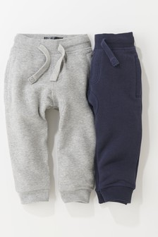 Navy/Grey Joggers Two Pack (3mths-6yrs)