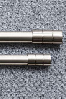 28mm Diameter Extendable Barrel Curtain Pole