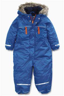 Blue Technical Snowsuit (3mths-6yrs)