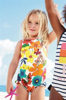 Multi Floral Print Swimsuit (3mths-6yrs)