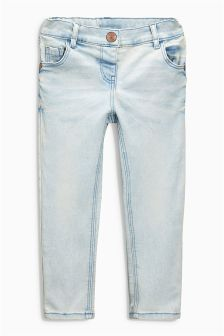 Denim Bleach Wash Skinny Jeans (3mths-6yrs)