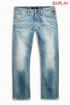 Denim Replay® Waitom Straight Fit Jean