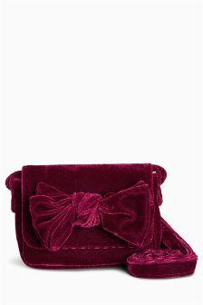 Velvet Bow Bag