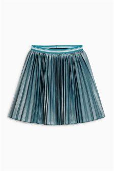 Blue Pleated Skirt (3-16yrs)