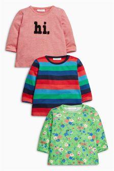 Multi T-Shirts Three Pack (0mths-2yrs)