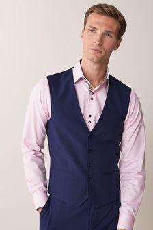 Blue Suit: Waistcoat