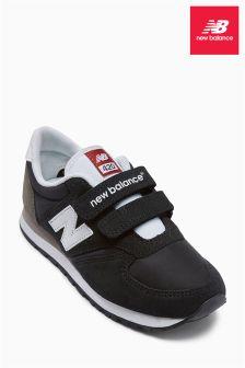 New Balance Black 420 Velcro Trainer