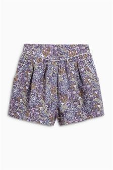 Purple All Over Print Culottes (3mths-6yrs)