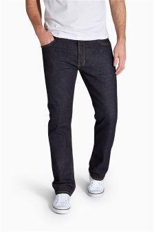 Dark Raw Denim Stretch Jeans