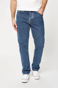 Mid Blue Jeans