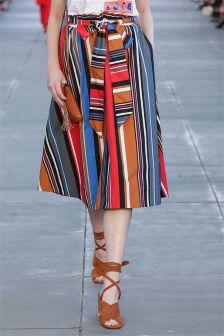 Multi Paperbag Skirt
