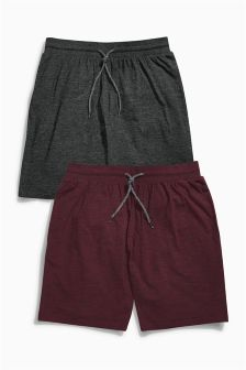 Burgundy Shorts Two Pack
