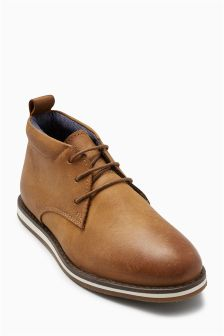 Lace Up Chukka Boots (Older Boys)