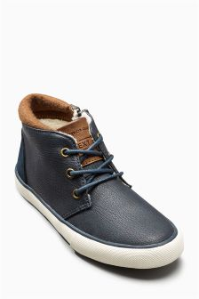 Borg Lined Chukka Boots (Older Boys)