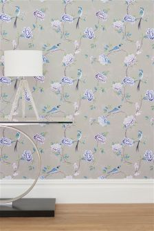 Paste The Wall Chinoise Floral Wallpaper