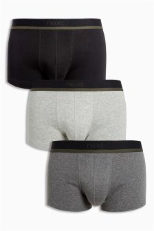 Grey Hipsters Three Pack