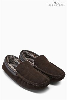 Luxury Suede Moccasin