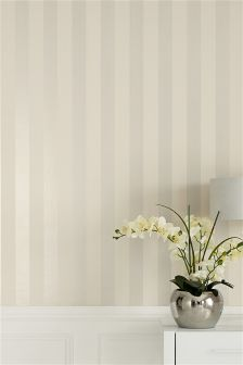 Collection Glitter Wide Stripe Wallpaper