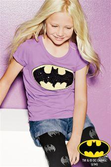Purple Batman® T-Shirt (3-16yrs)
