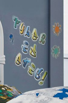 Graffiti Alphabet Stickers