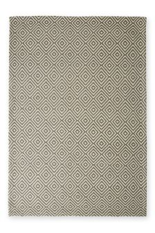 Diamond Geo Grey Rug