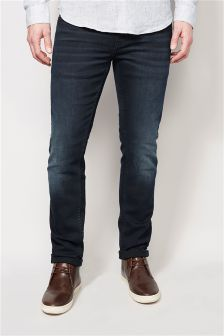Black/Blue Jeans With Stretch