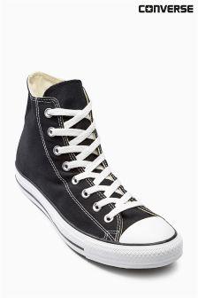 Black Converse Chuck Hi