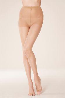 Nude Sandal Toe 5 Denier Tights