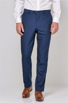 Blue Suit: Trousers