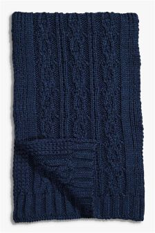 Classic Cable Scarf
