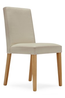 Set Of 2 Moda  II Leather Dining Chairs
