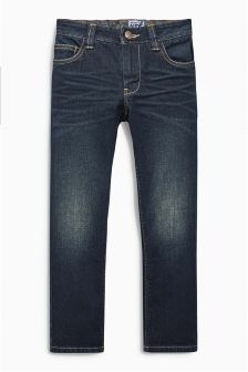 Dark Blue Regular Jeans (3-16yrs)