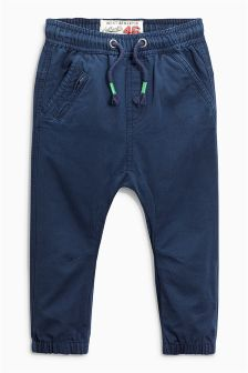 Pull On Cuff Trousers (3mths-6yrs)
