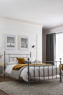 Leamington Pewter Bedstead